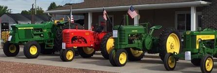Tractorshow Eventspage